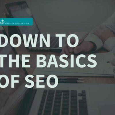 Basics of SEO