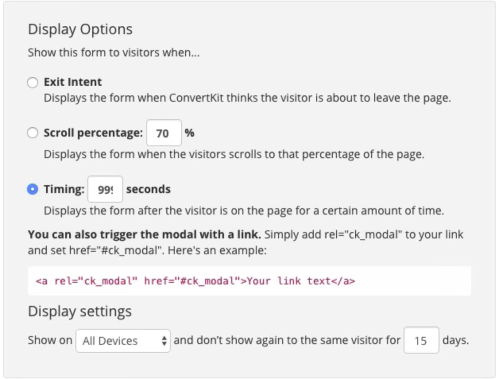 How to Add Multiple ConvertKit Modal Forms on One Page